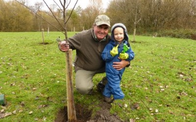 2013 – November – Starting a Community Orchard.