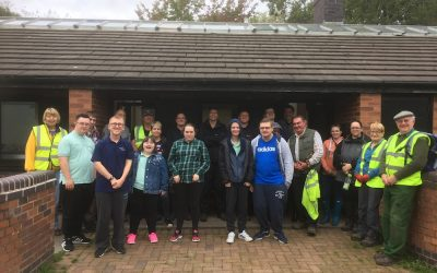 2018 -18th September –  More help from volunteers.